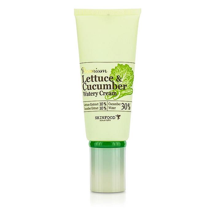 крем-гель увлажняющий с экстрактом листьев салата и огурцаPremium Lettuce&amp;nbsp;&amp;amp;&amp;nbsp;Cucumber Watery Cream. Крем-гель увлажняющий с экстрактом листьев салата и огурца<br><br>Увлажняющий крем содержит экстракт огурца (5%) и салата латука (5%), водный настой огурца (20%) и др.&amp;nbsp;<br><br>&amp;nbsp;<br><br>Линия Premium Lettuce &amp;amp; Cucumber с полноценным минеральным комплексом интенсивно увлажняет и освежает кожу, улучшает цвет лица, устраняет покраснения, отечность, успокаивает раздраженную кожу, смягчает и придает коже гладкость, тонизирует.&amp;nbsp;<br><br>&amp;nbsp;<br><br>Крем интенсивно увлажняет, устраняет сухость, шелушения, дарит коже чувство свежести.<br><br>&amp;nbsp;<br><br>Обладает легкой гелевой текстурой, быстро впитывается.<br><br>&amp;nbsp;<br><br>Не содержит искусственных красителей, минерального масла, мочевины, бензофенона, талька.<br><br>&amp;nbsp;<br><br>Применение: Нанесите крем на кожу лица массажными движениями.<br><br>&amp;nbsp;<br><br>Объем: 50 гр<br><br>Вес г: 50.00000000