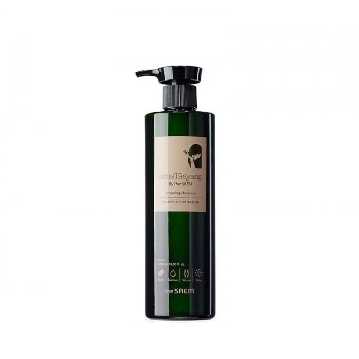 шампунь для волос the saem artistaeyang voluming shampooArtisTaeyang Voluming Shampoo. Шампунь для объема волос<br><br>Прическа, как у любимой артистки – наверное, мечта многих женщин. Однако, волосы не так блестят, как хотелось бы; объём прически не такой оставляет желать лучшего, а через несколько часов волосы вообще висят – до идеала далеко. Линия средств artisTaeyang BY the SAEM разработана для волос, которые нуждаются в дополнительной подпитке, плохо поддаются укладке и выглядят тускло и безжизненно. Средства питают и укрепляют волосы, делают их блестящими и шелковистыми, придают объём. Шампунь&amp;nbsp;ArtisTaeyang Voluming Shampoo - яркий представитель этих средств. Состав The Saem ArtisTaeyang Voluming Shampoo максимально натурален и способствует быстрому оздоровлению волос и кожи головы.<br><br><br>Экстракт трихозантес (целебное аюрведическое растение) делает волосы здоровыми и сильными.<br><br>Экстракт алоэ укрепляет структуру волос и придает небывалый объем.<br><br>Соевый экстракт качественно увлажняет, делает волосы блестящими.<br><br>Маточное молочко насыщает полезнейшими витаминами и микроэлементами, необходимыми для здоровья волос.<br><br>Экстракт зеленого чая укрепляет, оказывает антисептическое действие на кожу головы.<br><br>Экстракт гинкго билоба улучшает кровообращение, укрепляет тонкие и ослабленные пряди.<br><br>Экстракт женьшеня укрепляет структуру волос, питает.<br><br>Экстракт виноградных косточек возвращает яркий цвет и здоровый блеск.<br><br>Экстракт меда смягчает, придает блеск.<br><br><br>Также в состав входят фруктовые экстракты и экстракты цветов, оздоравливающие пряди. Представленный шампунь от The Saem поможет решить большинство проблем ваших волос. Его постоянное применение позволит добиться следующих результатов:<br><br><br>Придать волосам постоянный объем.<br><br>Сделать пряди более послушными для красивой укладки.<br><br>Вернуть естественный, здоровый блеск.<br><br>Насытить пряди и кожу головы всеми необходимыми витаминами и микр