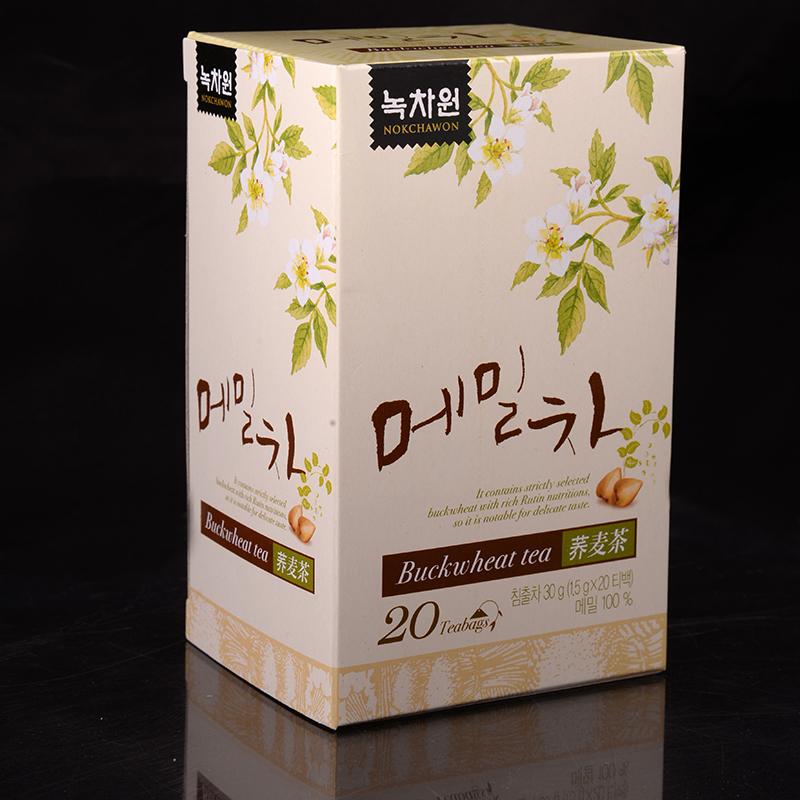 напиток из гречихи в пакетиках nokchawon buckwheat tea