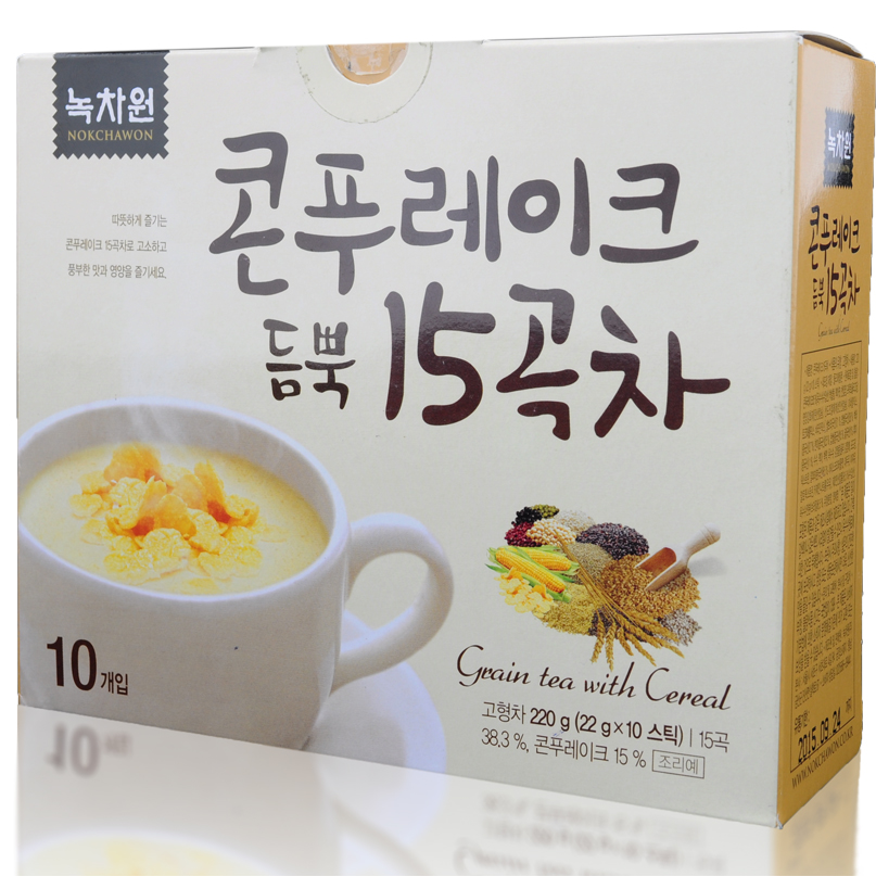 �������� ������� � ����������� �������� nokchawon grain tea with cereal