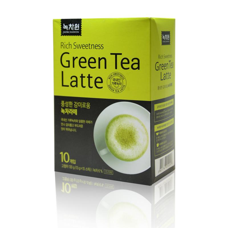 зеленый чай латте nokchawon green tea latte