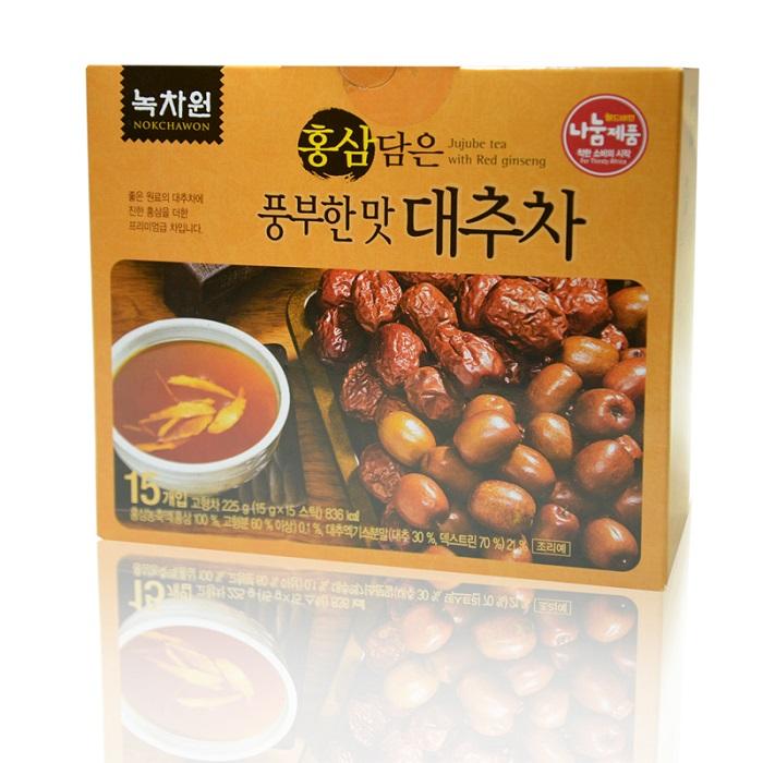������� �� ������� � ������� ��������� nokchawon jujube tea with red ginseng