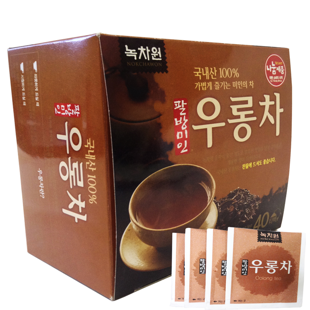 ��� ���� � ��������� nokchawon oolong tea