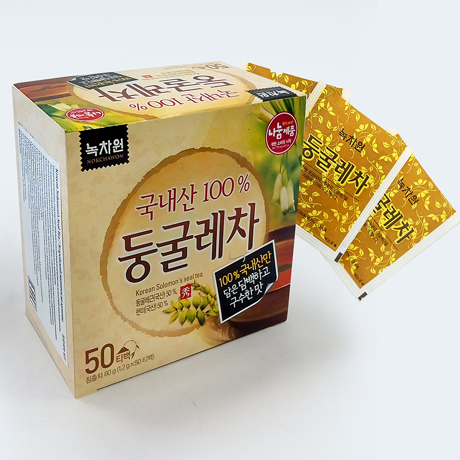 ��� �� ������� ������ � ��������� nokchawon solomon seal tea