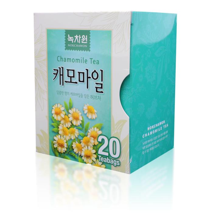 чай с ромашкой в пакетиках nokchawon напиток из ромашки