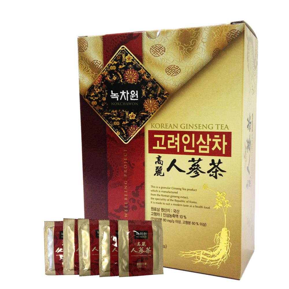 напиток из корейского женьшеня в гранулах nokchawon korean ginseng teaНапиток из женьшеня Nokchawon – великолепный продукт, обладающий оригинальным вкусом и ароматом настоящего женьшеня. Женьшеневый напиток обладает великолепной способностью заряжать энергией, укрепляет нервную систему и память, повышает остроту зрения, повышает иммунитет против простудных заболеваний; нормализует кровяное давление, функцию печени. Оказывает омолаживающее действие на организм. Понижает содержание сахара в крови. Предохраняет от возникновения раковых клеток.<br><br>&amp;nbsp;<br><br>&amp;nbsp; &amp;nbsp;Семь чудесных свойств Чая из Корейского Красного Женьшеня:&amp;nbsp;<br><br>1. Корень женьшеня восстанавливает силы и снимает усталость, улучшает общее физическое состояние, что важно при повышенной умственной и физической работе, для пожилых людей и людей в период восстановления после болезни.<br>2. Регулярный прием женьшеня повышает гемоглобин, что важно при малокровии, улучшает кровообращение, снижает уровень холестерина и нормализует артериальное давление.<br><br>3. Помогает в борьбе со стрессами при хронической усталости, при нервно-психическом истощении, снимает тревогу и успокаивает нервы, возрождает душевные силы.<br>4. Женьшень устраняет обезвоженность организма и чувство жажды, повышает эффективность противодиабетических препаратов и улучшает функцию селезенки, помогает синтезировать инсулин в B-клетках поджелудочной железы.<br>5. Способствует улучшению работы желудочно-кишечного тракта,&amp;nbsp; укрепляет легкие, способствует выздоровлению при заболеваниях дыхательных путей.<br><br>&amp;nbsp;<br><br>6. Регулярное употребление чая улучшает потенцию.<br>7. Женьшень выводит токсины, снимает отечность, повышает иммунитет и замедляет процесс старения клеток. Воздействует на все виды раковых клеток. Хорошее средство для профилактики вирусных и инфекционных заболеваний в осенне-зимний период.&amp;nbsp;<br><br>&amp;nbsp;<br><br>Не является БАДом, не содержит ГМО.<br><br>Масса нетт