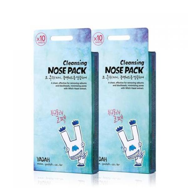 очищающие полоски от черных точек специально для кожи носа, 1гр yadah cleansing nose packОчищающие полоски Cleansing Nose Pack от черных точек специально для кожи носа.<br><br>Экстракт гамаммелиса, входящий в состав средства, мгновенно успокаивает кожу, минимизируя размер пор и оказывая выраженное противовоспалительное действие.<br><br>Рекомендуется использовать 1 раз в неделю.<br><br>Применение: очистите кожу, намочите кожу на носу и щеках. Нанесите полоску на нос и щеки. Оставьте на 10-15 минут, пока полоска полностью не высохнет и не затвердеет. После этого, аккуратно удалите ее с носа вместе со всеми загрязнениями.<br><br>Вес: 1 г<br><br>Меры предосторожности: избегать попадания в глаза, в случае несовместимости с кожей прекратите использование.<br><br>Характеристики товара:<br><br><br><br><br>Возраст<br><br>все;<br><br><br><br>Тип кожи<br><br>проблемная<br><br><br><br>Тип маски<br><br>патч; пластырь<br><br><br><br>Функции<br><br>очищение пор; сужение пор<br><br><br><br>Несовершенства<br><br>черные точки; расширенные поры<br><br><br><br><br>&amp;nbsp;<br><br>Вес г: 1.00000000