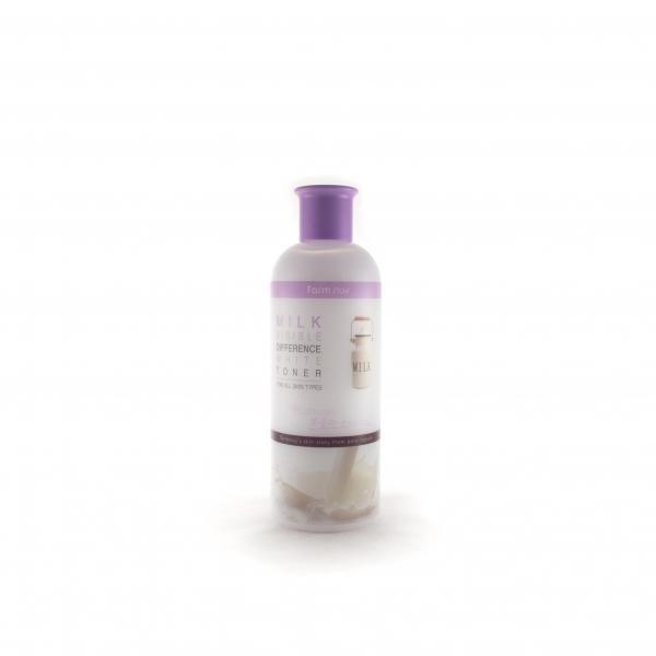 увлажняющий и осветляющий тонер с экстрактом молока farmstay visible difference white toner (milk)Тонер с экстрактом молока Visible Difference White Toner (Milk) увлажняет и питает кожу необходимыми элементами.<br><br>Способ применения: ватным диском или пальцами нанесите на кожу легкими движениями после использования очищения. Дайте впитаться. Далее наносите эмульсию и крем.<br><br>Объем: 350 мл<br><br>Меры предосторожности: избегать попадания в глаза, в случае несовместимости с кожей прекратите использование.<br><br>Характеристики товара:<br><br><br><br><br>Возраст<br><br>25-35; от 35; от 45<br><br><br><br>Тип кожи<br><br>для всех типов; обезвоженная; сухая; тусклая; чувствительная<br><br><br><br>Функции<br><br>питание; увлажнение; смягчение<br><br><br><br>Несовершенства<br><br>тусклый цвет лица; пигментация<br><br><br><br><br>&amp;nbsp;<br>