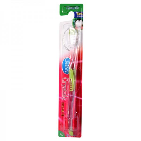 зубная щетка  c ионами серебра neo-ion crystal-e toothbrushCrystal-E toothbrush. Зубная щетка&amp;nbsp; c ионами серебра обладает противомикробным эффектом.<br><br>Особенности товара:<br>1.Сверхтонкие щетинки позволяют глубоко и тщательнее очищать налет на зубах и в межзубном пространстве.<br>2.Ионы серебра Ag+ способствуют повышению иммунитета и предупреждают образование пародонтита и пародонтоза.<br>3.Ионы серебра Ag+ обладают мощным бактерицидным, антисептическим действием .<br>4.Двойной эффект –сверхтонкие щетинки и ионы серебра Ag+ на 99,9% убивают бактерии и устраняют запах изо рта.<br><br>При целостности упаковки срок годности не ограничен.<br>Материал щетки: синтетический поли-бутилен-терефталат волокна (synthetic poly-butylene-terephthalate fiber)<br>Материал ручки: Полипропилен-каучук (Polypropylene+rubber)<br>Степень жесткости щетины: мягкой жесткости<br>